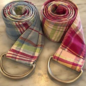 Madras belt set